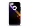 Neon Light Guitar Skin for the iPhone 5c OtterBox Commuter Case