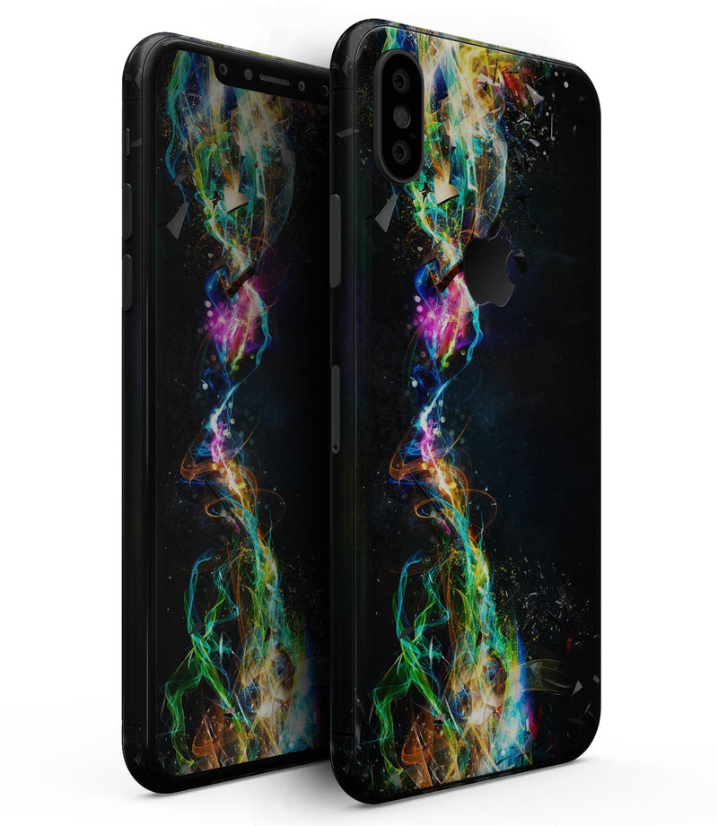 Neon Motion Lights - iPhone XS MAX, XS/X, 8/8+, 7/7+, 5/5S/SE Skin-Kit (All iPhones Available)