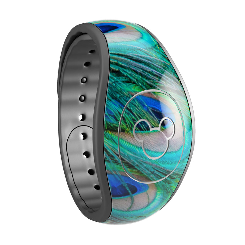 Neon Multiple Peacock - Decal Skin Wrap Kit for the Disney Magic Band