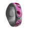 Neon Pink Cheetah Animal Print - Decal Skin Wrap Kit for the Disney Magic Band