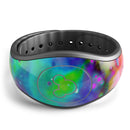Neon Splatter Universe - Decal Skin Wrap Kit for the Disney Magic Band