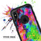 Neon Splatter Universe - Skin Kit for the iPhone OtterBox Cases