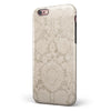 Neutral Pattern of Luxury iPhone 6/6s or 6/6s Plus 2-Piece Hybrid INK-Fuzed Case