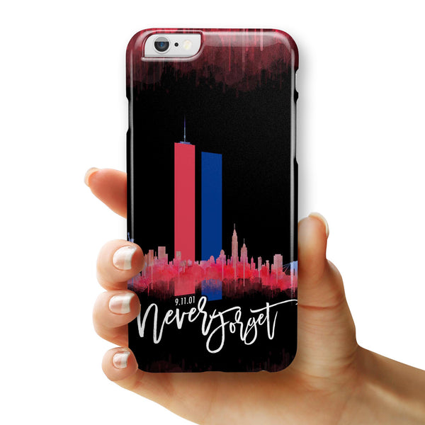 Never Forget 9/11 v11 - iPhone 6/6s or 6/6s Plus INK-Fuzed Case