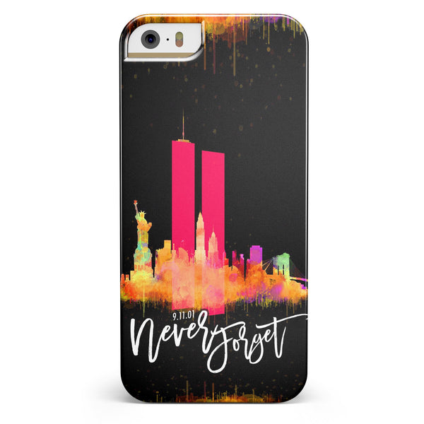 Never Forget 9/11 V12 -  iPhone 5/5s or SE INK-Fuzed Case