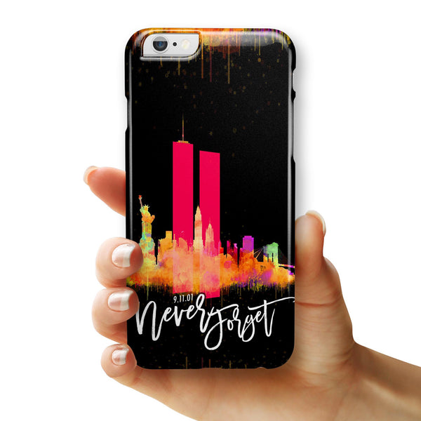 Never Forget 9/11 v12 - iPhone 6/6s or 6/6s Plus INK-Fuzed Case
