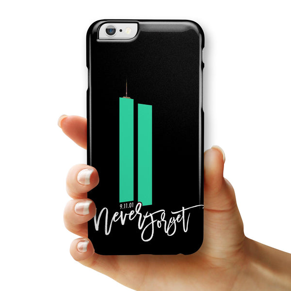 Never Forget 9/11 v14 - iPhone 6/6s or 6/6s Plus INK-Fuzed Case