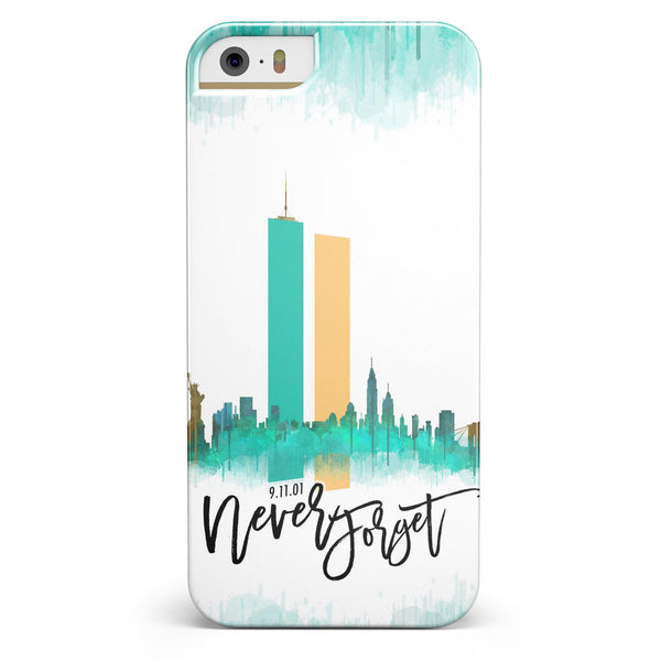 Never Forget 9/11 V1 -  iPhone 5/5s or SE INK-Fuzed Case