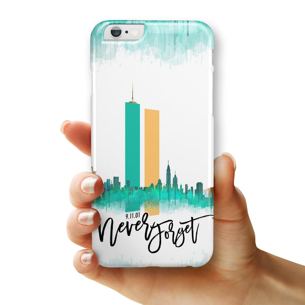 Never Forget 9/11 v1 - iPhone 6/6s or 6/6s Plus INK-Fuzed Case