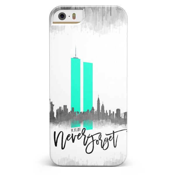 Never Forget 9/11 V4 -  iPhone 5/5s or SE INK-Fuzed Case