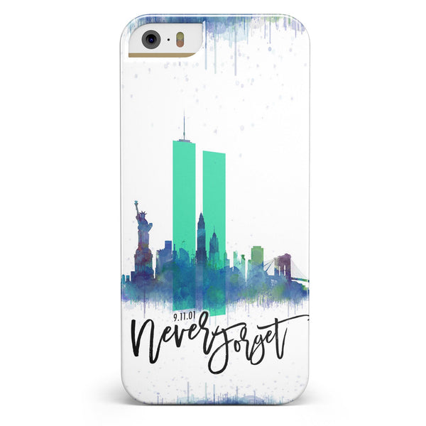 Never Forget 9/11 V5 -  iPhone 5/5s or SE INK-Fuzed Case