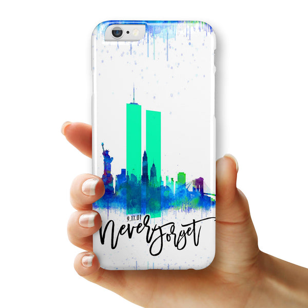 Never Forget 9/11 v6 - iPhone 6/6s or 6/6s Plus INK-Fuzed Case