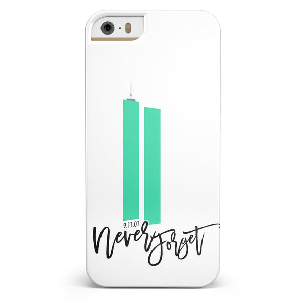 Never Forget 9/11 V7 -  iPhone 5/5s or SE INK-Fuzed Case