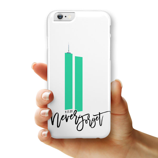 Never Forget 9/11 v7 - iPhone 6/6s or 6/6s Plus INK-Fuzed Case