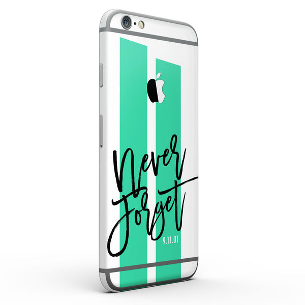 Never Forget 9/11 V8 - Six-Piece Skin Kit for the iPhone 6/6s or 6/6s Plus
