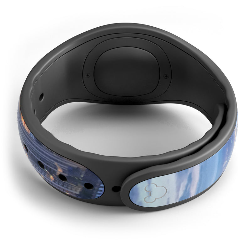 Night Aerial NYC - Decal Skin Wrap Kit for the Disney Magic Band