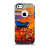 Oil Pastel Lake Sunset Skin for the iPhone 5c OtterBox Commuter Case