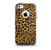 Orange Cheetah Fur Pattern Skin for the iPhone 5c OtterBox Commuter Case
