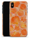 Orange Floral Succulents - iPhone X Clipit Case