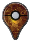 Orange Geometric V16 Pokémon GO Plus Vinyl Protective Decal Skin Kit