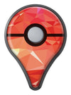 Orange Geometric V17 Pokémon GO Plus Vinyl Protective Decal Skin Kit