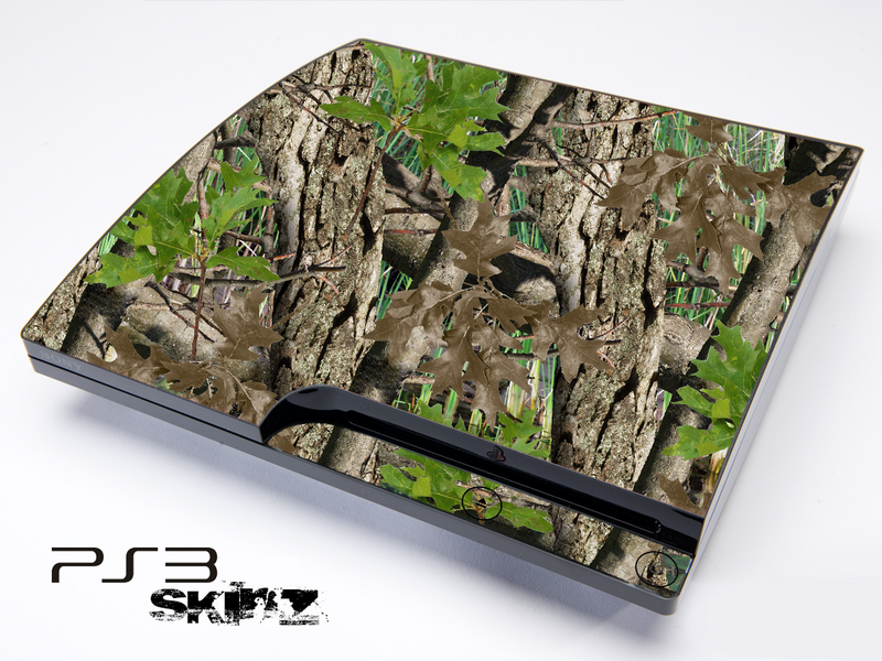 Vibrant Real Woods Camouflage Skin for the Playstation 3