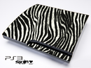 Real Zebra Print Skin for the Playstation 3