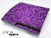 Purple Lace Skin for the Playstation 3