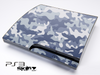 Abstract Snow Camo Skin for the Playstation 3