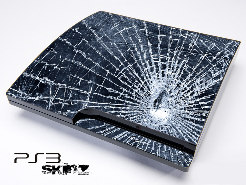 Shattered Glass Skin for the Playstation 3
