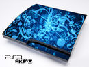 Glowing Musical Notes Skin for the Playstation 3