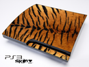 Tiger Print Skin for the Playstation 3