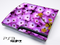 Purple Daisies Skin for the Playstation 3