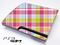 Color Pink Plaid Skin for the Playstation 3