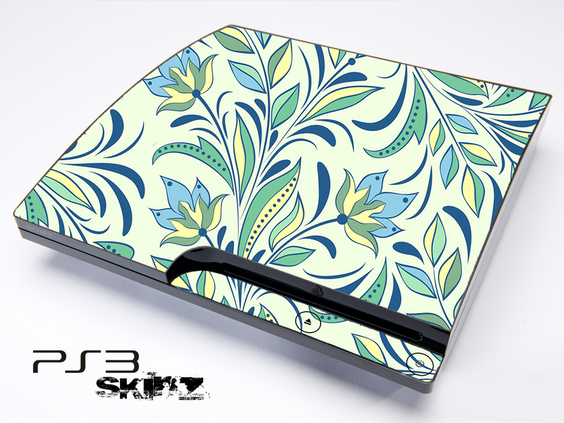 Floral Abstract Skin for the Playstation 3
