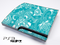 Turquoise Pattern Skin for the Playstation 3