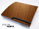Straight Wood Skin for the Playstation 3