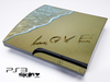 Beach Love Skin for the Playstation 3
