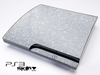 Silver Glitter Ultra Metallic Skin for the Playstation 3