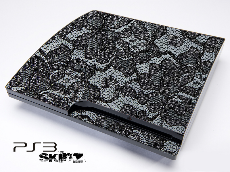 Black Laced Skin for the Playstation 3