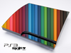 Color Bars Skin for the Playstation 3