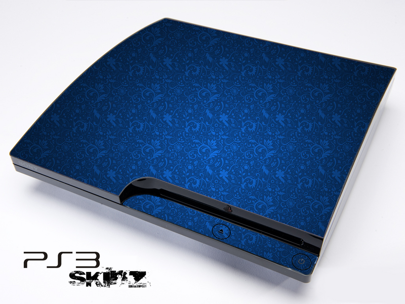 Blue Laced Skin for the Playstation 3