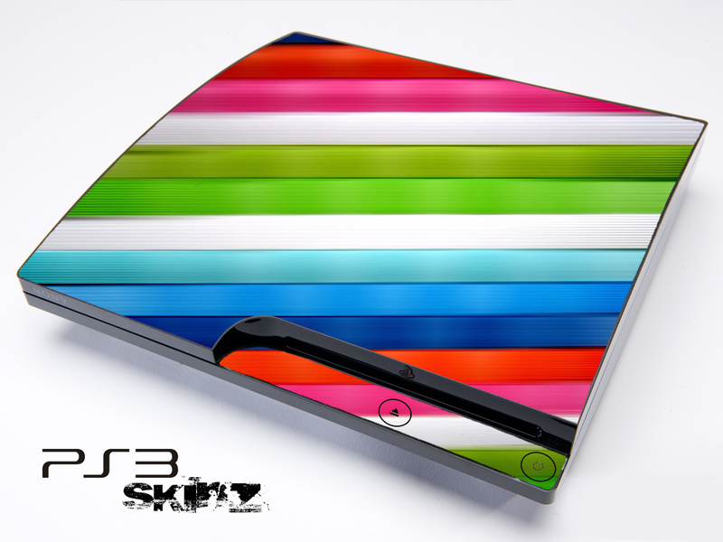 Bright Color Bars Skin for the Playstation 3