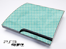 Light Green Plaid Skin for the Playstation 3