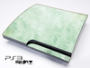 Vintage Green Floral Skin for the Playstation 3