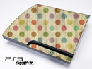 Vintage Polka Dotted Skin for the Playstation 3