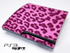 Hot Pink Leopard Skin for the Playstation 3