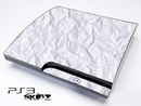 Crumpled Paper Skin for the Playstation 3