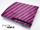 Purple Stripes Skin for the Playstation 3