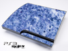 Blue Floral Skin for the Playstation 3
